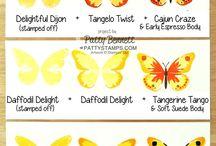 Card - watercolour wings