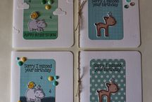 Lawn Fawn / Cards made using Lawn Fawn products