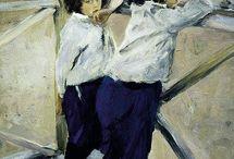 Russian artists