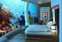 veduta mare da camera letto