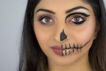 Inspired Halloween makeup