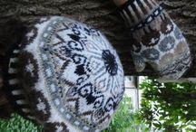шапки и береты / шапки и береты жаккардового вязания