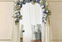 arco con i fiori