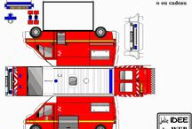 День Рождение Пожарная станция