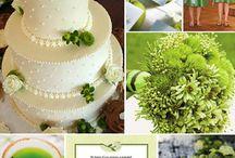 Green Wedding Theme / by Rustic Wedding Chic