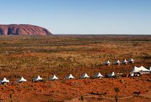 Glamping / understated, barefoot, laidback Australian luxe camps