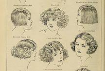 penteados anos 30