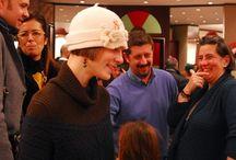 Eventi Rinaldelli Modisteria / Ogni tanto ospitiamo Eventi nel nostro Showroom: dall'enogastronomia all'arte. Il modo di incontrare tante belle persone.