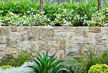 retaining walls and home exterior