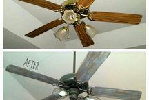 DIY: Ceiling Fan Makeover