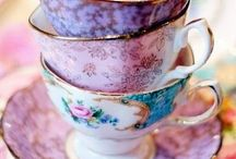 "Tea Cups / A collection of tea cups sure to give you ""tea cup envy"""