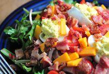 salads / by Courtney Slay