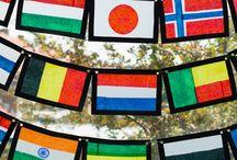 Werelddag / Werelddag op de Boschuil inspiratiebord.