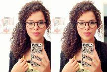 Penteados óculos