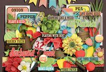 {Grow Like A Weed} Digital Scrapbook Kit by Aprilisa Designs / http://www.gottapixel.net/store/manufacturers.php?manufacturerid=135