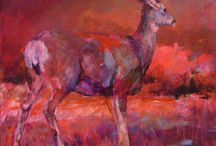Shannon Ford Deer Paintings / Original Deer paintings by Shannon Ford... these deer live around our home and I hope you enjoy them as much as we do