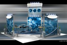 20x20 Trade Show Exhibits -Booths -Displays / This board carries trade show exhibits for 20'x20' spaces. Whatever your trade show exhibit needs are, Exponents can provide you with the best displays and exhibits to make you business stand out.