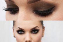 Makeup - Smokey / Smokey eyes, variants and dark eye makeup