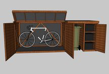 Bike and bin storage
