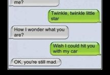 Funny text messages / hilarious!