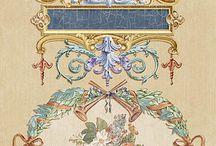фреска гравюра