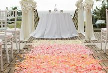 Ombre Wedding Aisle