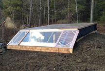 earth-sheltered greenhouse