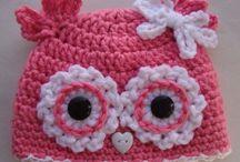 tricotando e crochete...