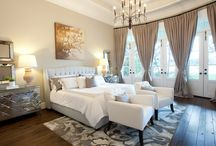 From Floor To Ceiling / Floor to ceiling #curtains, upholstery and other #home decor that add glamorous drama to any room for dramatic, opulent style