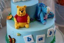 winnie the poo taart