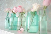 "for the love of mason jars / ""like"" me @ www.facebook.com/VintageBruja"