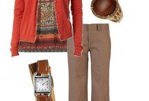 Комбинации цветов и стиль / Сочетание цветов и фактур в одежде и аксессуарах