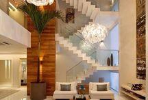 scări cu sticla