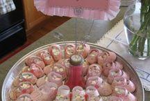battesimo rosa e baby shower