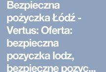 VERTUSFINANSE Bezpieczna pożyczka Łódź