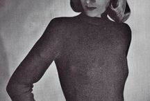 retro knitting