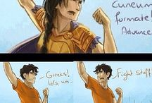 Percy Jackson / Blue food, my mild obsession with Percy...