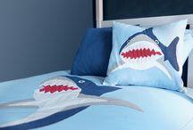 Shark Bedroom ideas (somethings in the water!) / by GLTC