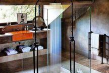 Indoor en outdoor (rain) shower designs