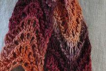 Knitting scarfs / Knitting