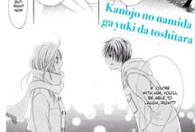 Manga #sadendings / Sad endings from manga. One-sided love. Sometimes these couples don't end up together.