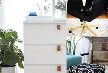 Ikea Hacks / by Angela Bowers