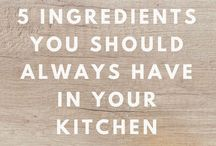 Kitchen & Cooking Tips