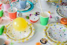 Kolorowe urodziny / Inspiracje na tryskające kolorami urodziny