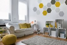 Grey & Yellow Room