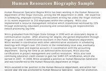 Best Biography Samples Best Biography On Pinterest