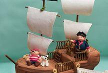 Jaydees Pirate Birthday Cake