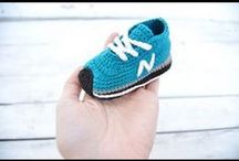 Botines para bebé de ganchillo