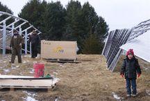 Solar installation / 150KW solar installation in my back yard / by Green State Organics