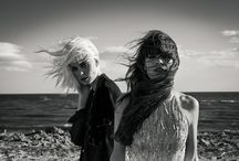 The Salton Sea / Beautiful babes by the beach. / by Ladygunn Magazine